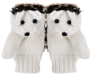 guantes de erizos